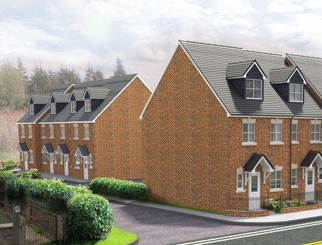 Thumbnail End terrace house for sale in Riverside Court, Langley Mill, Nottingham