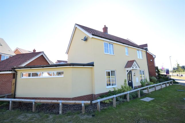 Thumbnail Detached house for sale in Moorhen Close, Sprowston, Norwich