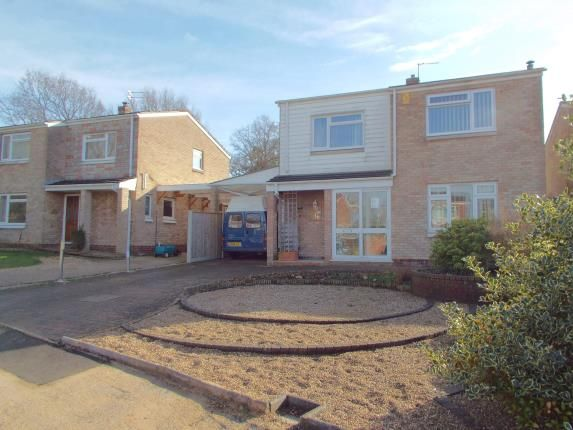 Thumbnail Detached house for sale in Taverham, Norwich, Norfolk