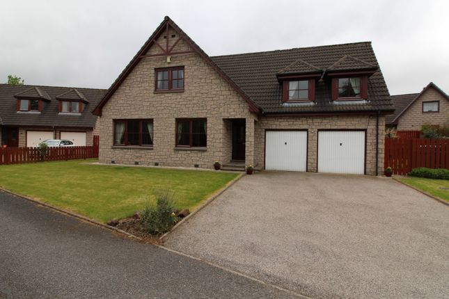 Thumbnail Detached house for sale in Fare View Torphins, Banchory
