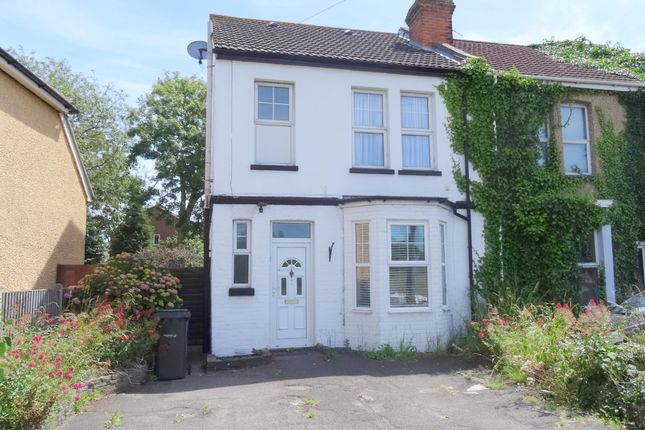 Thumbnail Semi-detached house to rent in Elson Road, Gosport