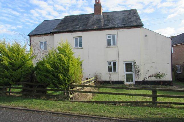 Thumbnail Semi-detached house to rent in Toll Bar Lane, Keyston, Huntingdon