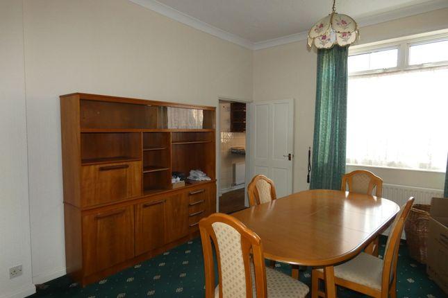 Dining Room of Gibbon Street, Bishop Auckland DL14