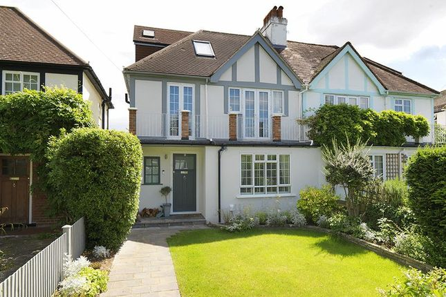 Thumbnail Semi-detached house to rent in Queens Drive, Thames Ditton