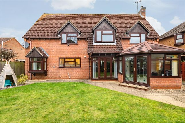 4 bed detached house for sale in Clarendon Way, Glinton, Peterborough PE6