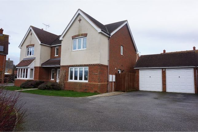 Thumbnail Detached house for sale in Knight Road, Woodbridge
