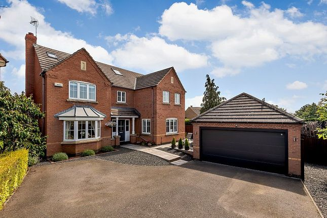 Thumbnail Detached house for sale in Millers Gardens, Market Harborough, Leicestershire