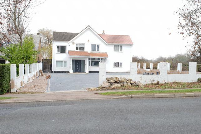 Thumbnail Detached house for sale in Scraptoft Lane, Scraptoft, Leicester