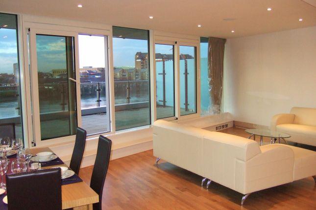 Thumbnail Flat to rent in Ensign House, Juniper Drive, Battersea