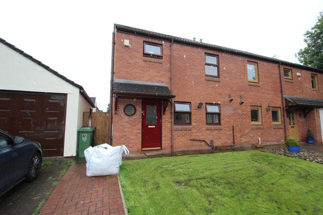 Thumbnail Semi-detached house for sale in Coledale Meadows, Carlisle, Cumbria