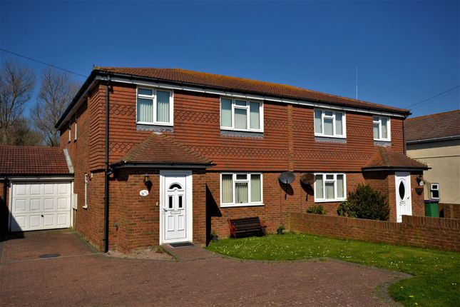 Thumbnail Semi-detached house for sale in Coast Drive, Greatstone, New Romney, Kent