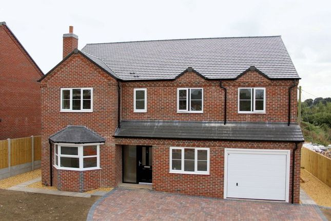 Thumbnail Detached house for sale in Newcastle Road, Market Drayton