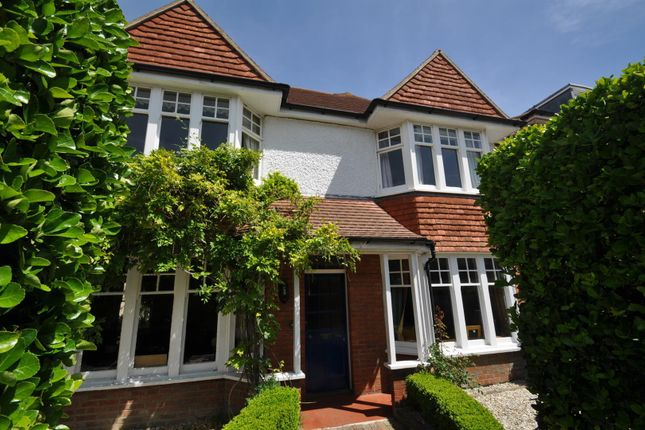 Thumbnail Detached house for sale in Hurst Road, Eastbourne