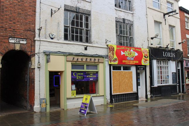Thumbnail Retail premises for sale in Lord Street, Gainsborough