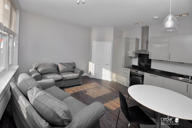 Thumbnail Flat to rent in Exeter Road, London