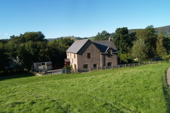 Thumbnail Detached house for sale in Penishaplwyd Lands, Pandy, Abergavenny
