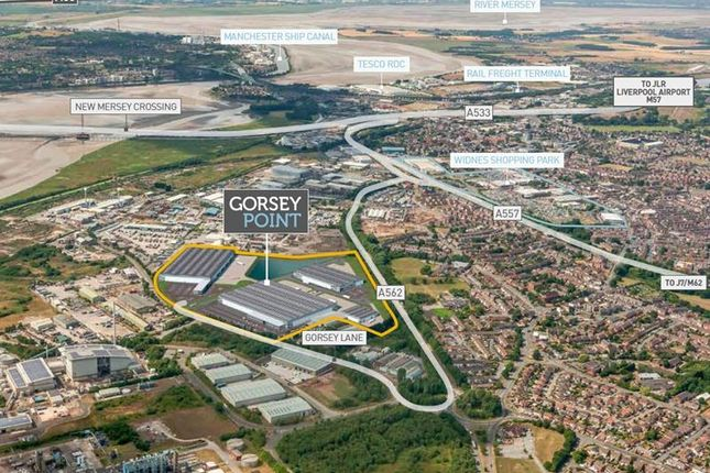 Thumbnail Light industrial for sale in Gorsey Point, Mersey Gateway, Widnes, Cheshire