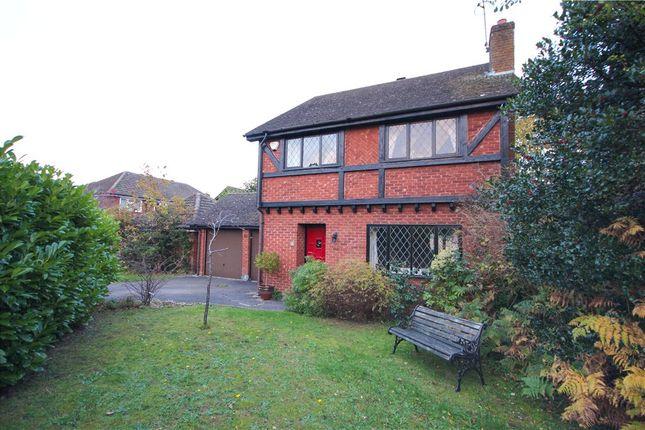Thumbnail Detached house for sale in Foye Lane, Church Crookham, Fleet, Hampshire