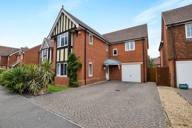 Thumbnail Detached house for sale in Forum Way, Kingsnorth, Ashford