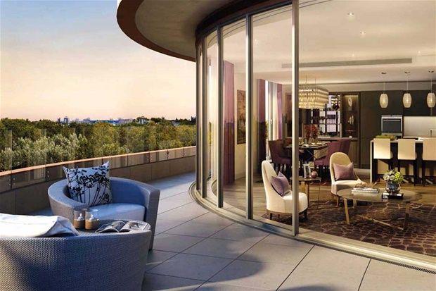2 bed flat for sale in Vista, Chelsea Bridge, Battersea, London