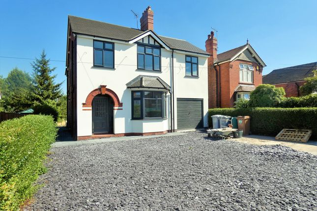 Thumbnail Detached house for sale in Crewe Road, Wheelock, Sandbach