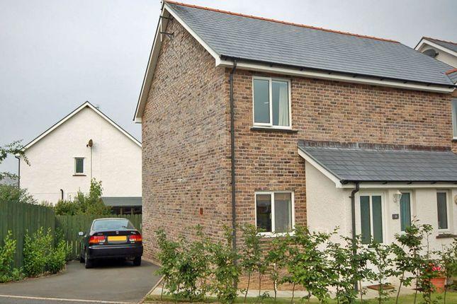 Thumbnail Semi-detached house to rent in Dol Helyg, Penrhyn Coch, Aberystwyth
