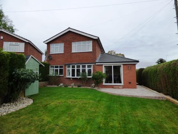 Thumbnail Detached house for sale in Camborne Avenue, Macclesfield, Cheshire