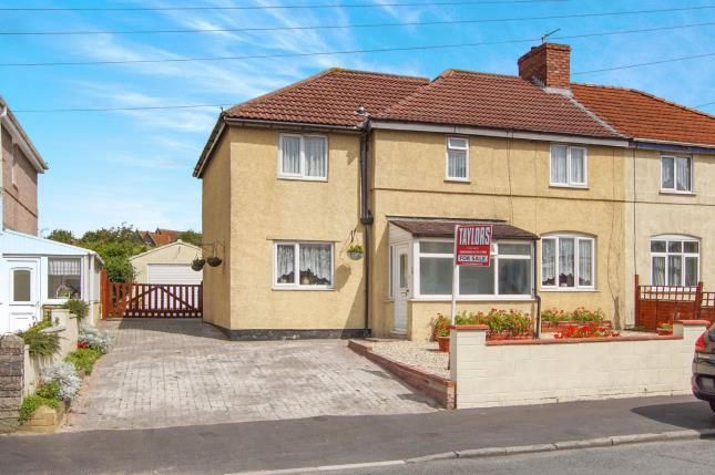 Thumbnail Semi-detached house for sale in Kingsway Avenue, St George, Bristol