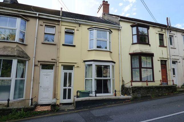 Thumbnail Terraced house for sale in Spring Hill, Tavistock