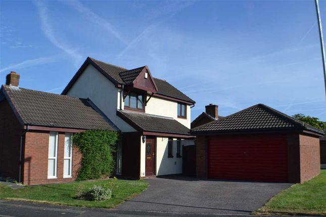 Thumbnail Detached house to rent in Carrington Close, Birchwood, Warrington