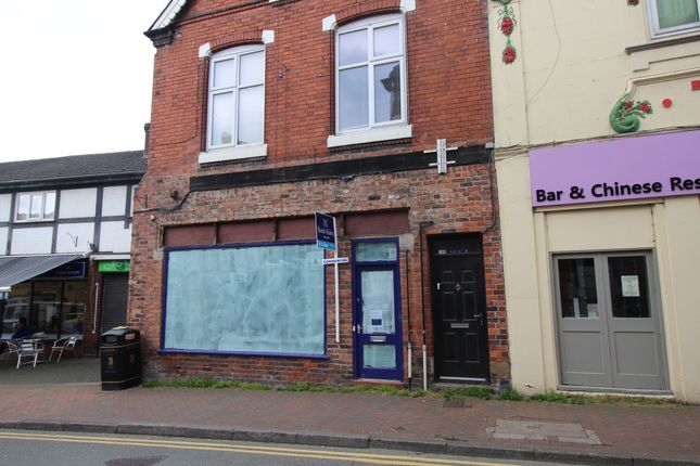 Thumbnail Terraced house for sale in Wheelock Street, Middlewich, Cheshire