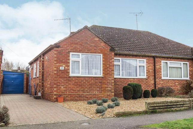 Thumbnail Semi-detached bungalow for sale in Portfields Road, Newport Pagnell