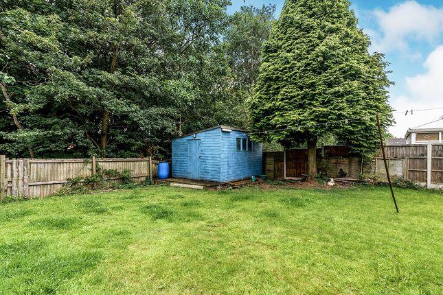 Rear Garden of Churchway, Stirchley, Telford, Shropshire TF3