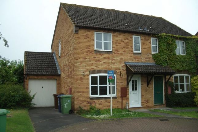 Thumbnail Semi-detached house to rent in Cantors Court, Bishops Cleeve, Cheltenham
