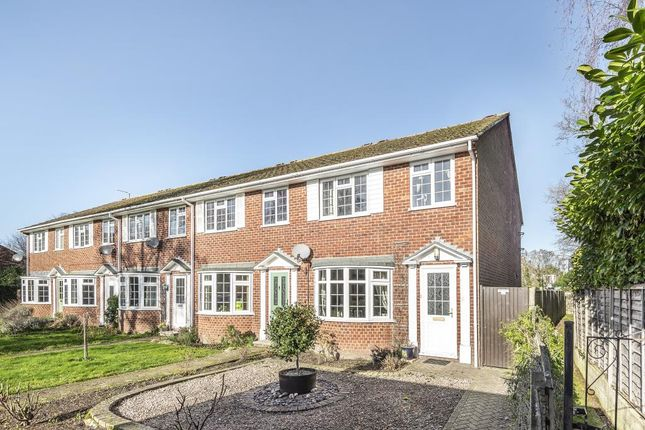 Thumbnail End Terrace House For Sale In Meadow Close Thatcham