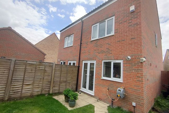 Thumbnail Semi-detached house for sale in Glebe Drive, Exning, Newmarket