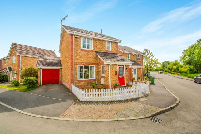 Thumbnail Detached house for sale in Walwyn Place, St. Mellons, Cardiff