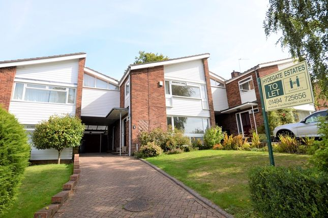 Thumbnail Link-detached house to rent in Highover Park, Amersham