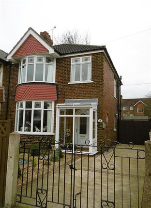 Thumbnail Semi-detached house for sale in Bushfield Road, Scunthorpe