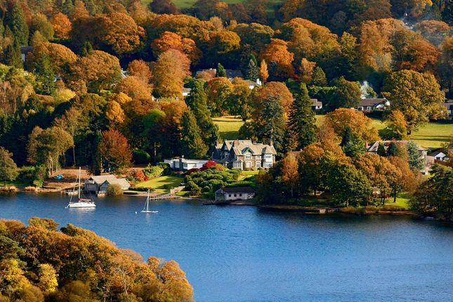 Thumbnail Flat for sale in Waters Edge, 4 Cannon Close, Storrs Park, Bowness-On-Windermere
