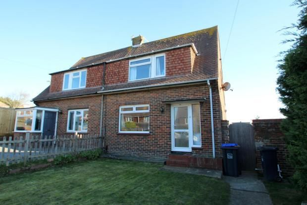 Thumbnail Semi-detached house to rent in Kings Road, Southwick, East Sussex