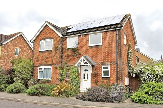 Thumbnail Detached house for sale in Emblems, Dunmow