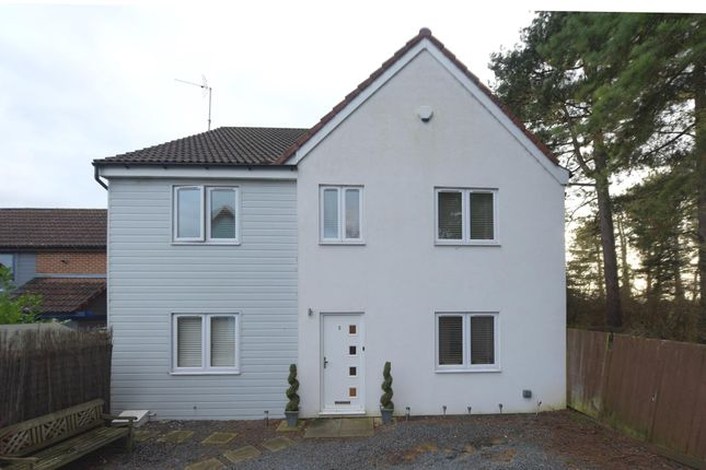 Thumbnail Detached house for sale in Southbridge Grove, Kents Hill, Milton Keynes