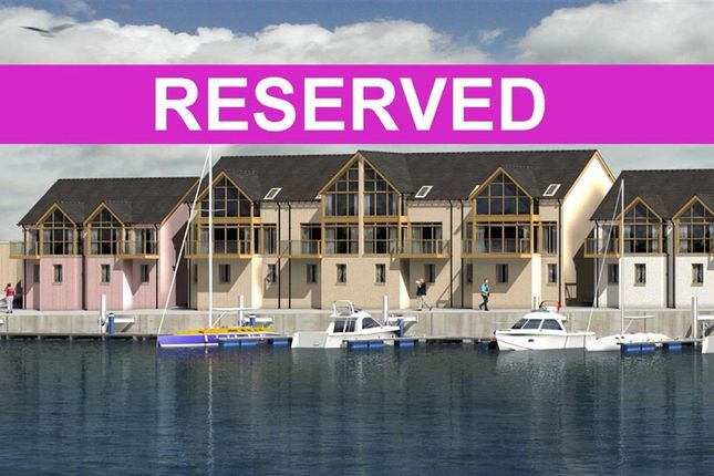 Thumbnail Town house for sale in Lossiemouth Marina, Lossiemouth