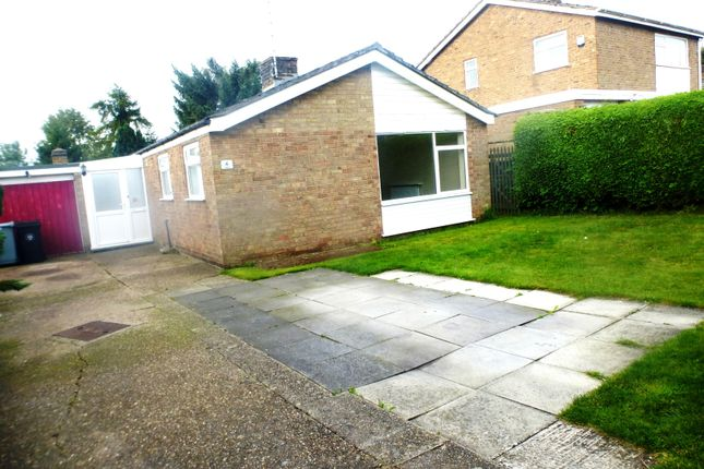 Thumbnail Detached bungalow to rent in Brookside, Ancaster, Grantham