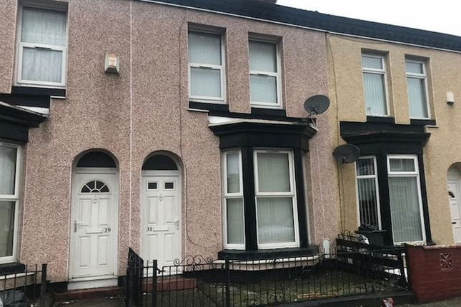 Thumbnail Terraced house to rent in Dryden Street, Bootle