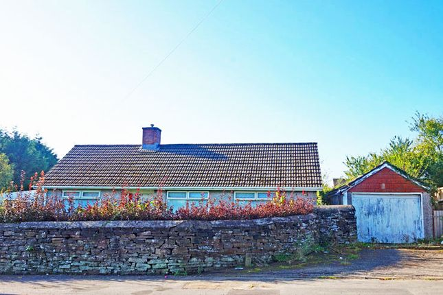 Thumbnail Detached bungalow for sale in Church Road, Gelligaer
