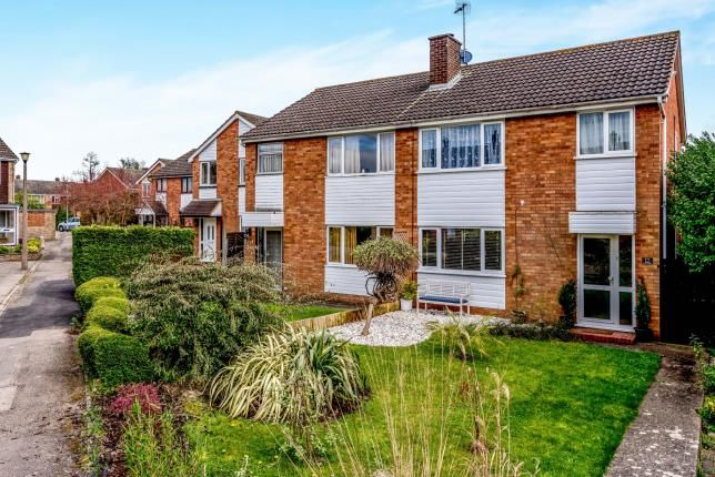 Thumbnail Semi-detached house for sale in Aviary Walk, Bedford, Bedfordshire, .
