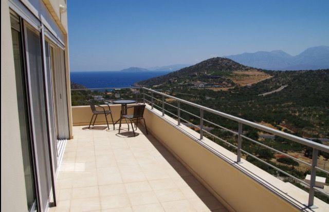 View From Villa Jasmine Bedroom Balcony