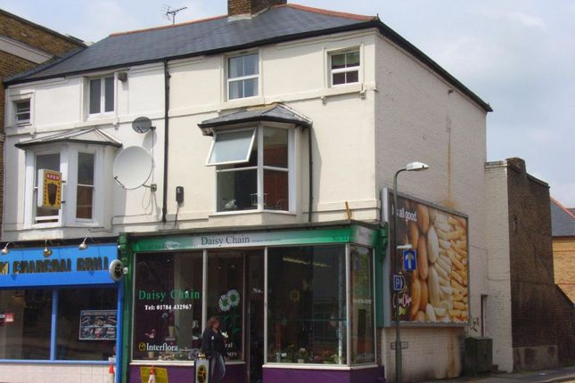 Thumbnail Flat to rent in High Street, Egham